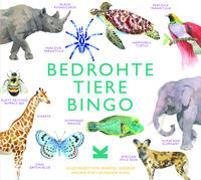 Cover-Bild zu Bedrohte Tiere Bingo von Williams, Lizzie