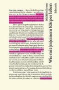 Cover-Bild zu Wie mit (m)einem Körper leben von Roten, Michèle