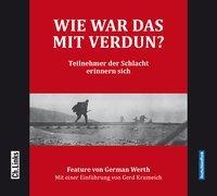 Cover-Bild zu Werth, German: Wie war das mit Verdun?