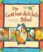 Cover-Bild zu Die Gott hat dich lieb Bibel von Lloyd-Jones, Sally