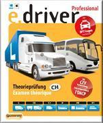 Cover-Bild zu e.driver Professional V1.0. Theorieprüfung / Examen théoretique
