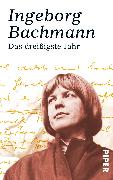 Cover-Bild zu Bachmann, Ingeborg: Das dreissigste Jahr