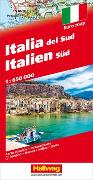 Cover-Bild zu Italien Süd Strassenkarte 1:650 000. 1:650'000 von Hallwag Kümmerly+Frey AG (Hrsg.)