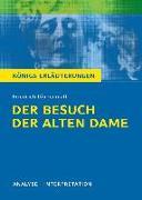 Cover-Bild zu Der Besuch der alten Dame von Friedrich Dürrenmatt von Dürrenmatt, Friedrich