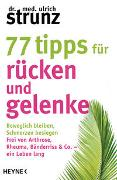 Cover-Bild zu 77 Tipps für Rücken und Gelenke