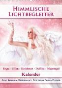 Cover-Bild zu Himmlische Lichtbegleiter - Kalender (Wandkalender 2021 DIN A2 hoch) von Shayana Hoffmann, Gaby
