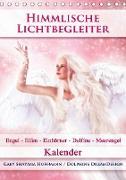 Cover-Bild zu Himmlische Lichtbegleiter - Kalender (Tischkalender 2021 DIN A5 hoch) von Shayana Hoffmann, Gaby