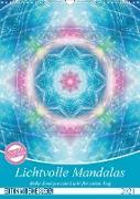 Cover-Bild zu Lichtvolle Mandalas (Wandkalender 2021 DIN A3 hoch) von Shayana Hoffmann, Gaby