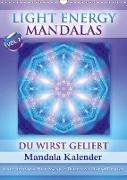 Cover-Bild zu Light Energy Mandalas - Kalender - Vol. 2 (Wandkalender 2021 DIN A3 hoch) von Shayana Hoffmann, Gaby