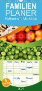 Cover-Bild zu Kulinarische Mandalas - Familienplaner hoch (Wandkalender 2021 , 21 cm x 45 cm, hoch) von Shayana Hoffmann, Gaby