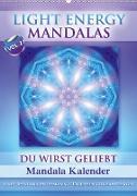 Cover-Bild zu Light Energy Mandalas - Kalender - Vol. 2 (Wandkalender 2021 DIN A2 hoch) von Shayana Hoffmann, Gaby