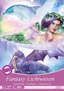 Cover-Bild zu Fantasy Lichtwesen (Wandkalender 2021 DIN A3 hoch) von Shayana Hoffmann, Gaby
