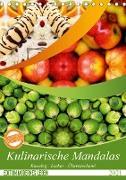 Cover-Bild zu Kulinarische Mandalas (Tischkalender 2021 DIN A5 hoch) von Shayana Hoffmann, Gaby