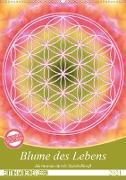 Cover-Bild zu Blume des Lebens - Harmonie durch Symbolkraft (Wandkalender 2021 DIN A2 hoch) von Shayana Hoffmann, Gaby
