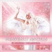 Cover-Bild zu Heavenly Angels (Wall Calendar 2021 300 × 300 mm Square) von Shayana Hoffmann, Gaby