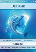 Cover-Bild zu Delfine - Kalender (Tischkalender 2021 DIN A5 hoch) von Shayana Hoffmann, Gaby