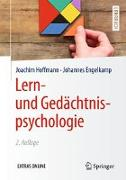 Cover-Bild zu Lern- und Gedächtnispsychologie von Hoffmann, Joachim