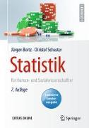 Cover-Bild zu Statistik für Human- und Sozialwissenschaftler von Bortz, Jürgen