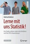 Cover-Bild zu Lerne mit uns Statistik! von Kuhlmei, Eckehard