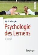 Cover-Bild zu Psychologie des Lernens von Lefrançois, Guy R.