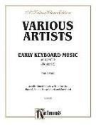 Cover-Bild zu Oesterle, Louis (Komponist): Early Keyboard Music, Vol 2