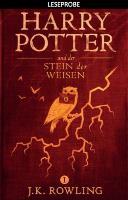 Cover-Bild zu Rowling, Joanne K.: Leseprobe: Harry Potter und der Stein der Weisen (eBook)
