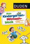 Cover-Bild zu Duden: Mein Kindergarten-Mitmachblock von Weller-Essers, Andrea
