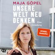 Cover-Bild zu Unsere Welt neu denken von Göpel, Maja