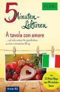 Cover-Bild zu PONS 5-Minuten-Lektüre Italienisch A2 - A tavola con amore