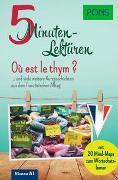 Cover-Bild zu PONS 5-Minuten-Lektüren Französisch A1 - Où est le thym ?