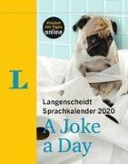 Cover-Bild zu Langenscheidt Sprachkalender 2020 A Joke a Day - Abreißkalender von Langenscheidt, Redaktion (Hrsg.)