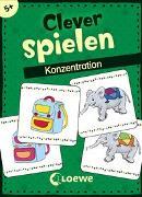 Cover-Bild zu Clever spielen - Konzentration von Loewe Lernen und Rätseln (Hrsg.)