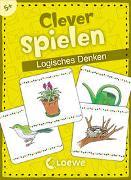 Cover-Bild zu Clever spielen - Logisches Denken von Loewe Lernen und Rätseln (Hrsg.)