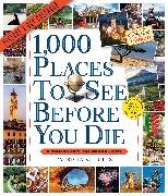 Cover-Bild zu 1,000 Places to See Before You Die Picture-A-Day Wall Calendar 2022
