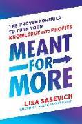 Cover-Bild zu Meant for More (eBook) von Sasevich, Lisa