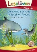 Cover-Bild zu Leselöwen 1. Klasse - Der kleine Seehund findet einen Freund von Taube, Anna