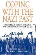 Cover-Bild zu Coping with the Nazi Past von Gassert, Philipp (Hrsg.)