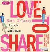 Cover-Bild zu Love to share - Liebe ist die halbe Miete von O'Leary, Beth