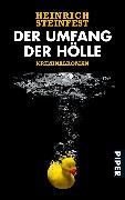 Cover-Bild zu Der Umfang der Hölle (eBook) von Steinfest, Heinrich