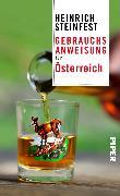 Cover-Bild zu Gebrauchsanweisung für Österreich (eBook) von Steinfest, Heinrich