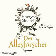 Cover-Bild zu Der Allesforscher (Audio Download) von Steinfest, Heinrich