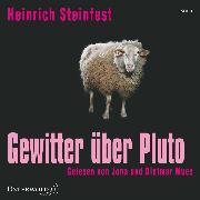 Cover-Bild zu Gewitter über Pluto (Audio Download) von Steinfest, Heinrich