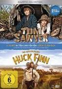 Cover-Bild zu Tom Sawyer & Die Abenteuer des Huck Finn von Arango, Sascha