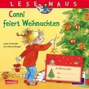 Cover-Bild zu LESEMAUS 58: Conni feiert Weihnachten von Schneider, Liane