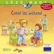Cover-Bild zu LESEMAUS 86: Conni ist wütend von Schneider, Liane