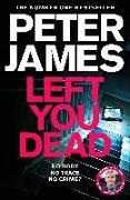 Cover-Bild zu Left You Dead von James, Peter