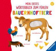 Cover-Bild zu Mein erstes Wörterbuch zum Fühlen: Bauernhoftiere von Teichmann, Meike (Illustr.)