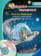 Cover-Bild zu Finn im Weltraum - Leserabe ab 1. Klasse - Erstlesebuch für Kinder ab 6 Jahren von Neudert, Cee