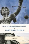 Cover-Bild zu Critical Government Documents on Law and Order (eBook) von Philpott, Don