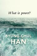 Cover-Bild zu Han, Byung-Chul: What is Power?